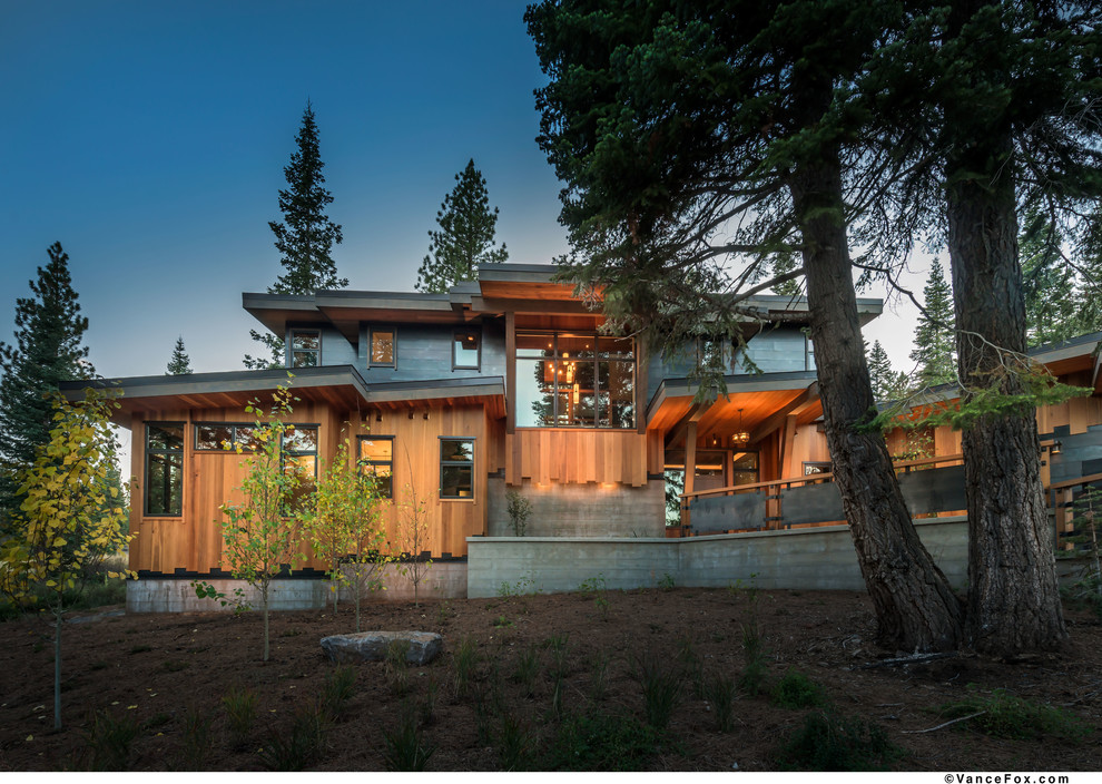 Valhalla Tahoe for Modern Exterior with Martis Camp