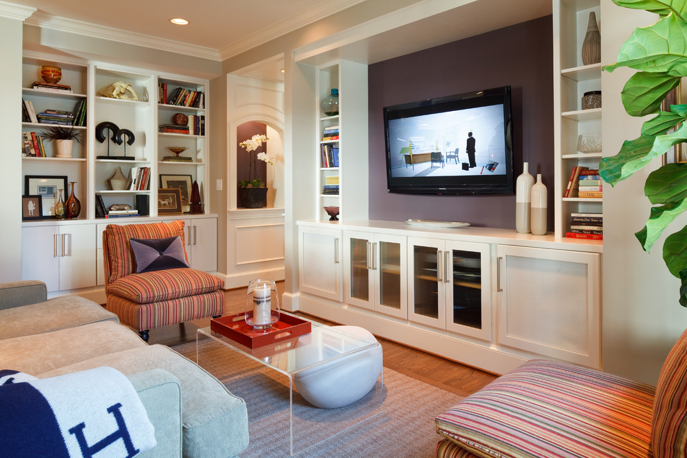 Wentworth Chevy for Transitional Living Room with Tv