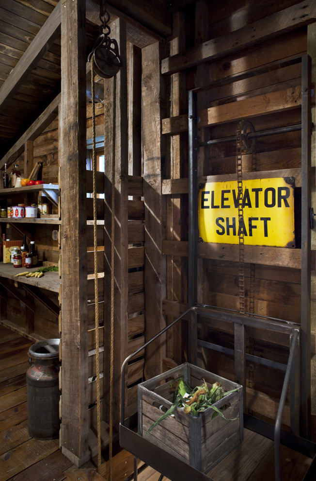 What is a Dumbwaiter for Rustic Spaces with Barn