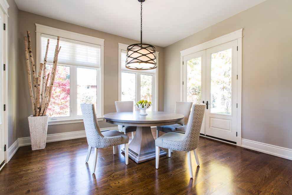 Woodcraft Furniture for Tropical Dining Room with French Doors