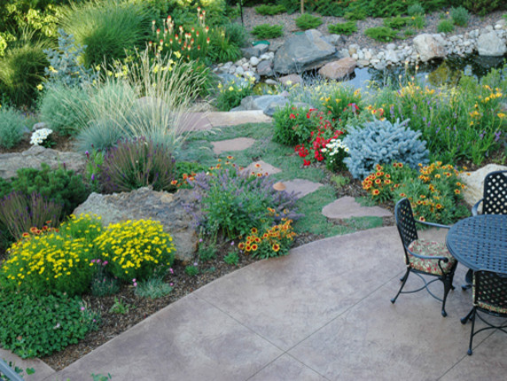 Xeric for Traditional Landscape with Arid Landscape