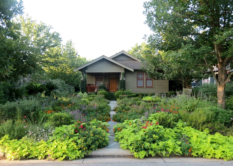 Xeriscape for Craftsman Landscape with Wildlife Habitat