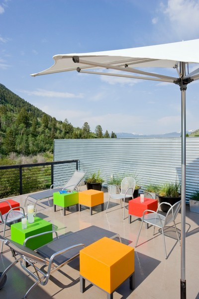 Aaa West Springfield for Contemporary Deck with Corrugated Metal