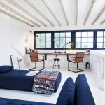 Aarons Uk Blog for Eclectic Home Office with Exposed Beams