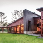 Acadian Style Homes for Contemporary Exterior with Wood Siding