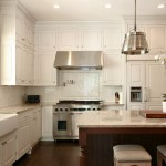 Acadian Style Homes for Traditional Kitchen with Beadboard