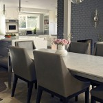Acme Brick Colors for Contemporary Dining Room with Exposed Brick