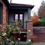 Acme Brick Colors for Traditional Exterior with Deck