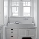 Ada Sink Height for Traditional Kitchen with Marble