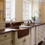 Ada Sink Height for Traditional Kitchen with Wood Cabinets