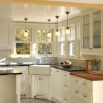 Ada Sink Height for Traditional Kitchen with Yellow