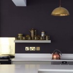 Aga Marvel for Contemporary Kitchen with Copper Pendants