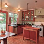 Aga Marvel for Craftsman Kitchen with Beadboard Walls