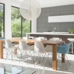 Aia Houston for Contemporary Dining Room with Wood Dining Table