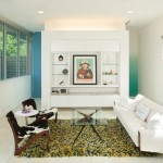 Aia Houston for Contemporary Living Room with Pops of Color