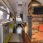 Airstream Renovation for Contemporary Kitchen with Airstream