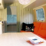 Airstream Renovation for Contemporary Living Room with M Magazine