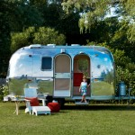 Airstream Renovation for Midcentury Exterior with Airstream