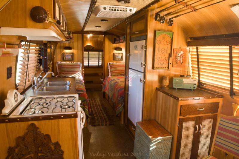 Airstream Restoration for Rustic Spaces with Rustic