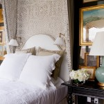 Alexa Hampton for Traditional Bedroom with White Bedding