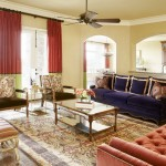 Alexa Hampton for Traditional Family Room with Gold