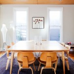 Anderson Plywood for Midcentury Dining Room with Contemporary Furniture
