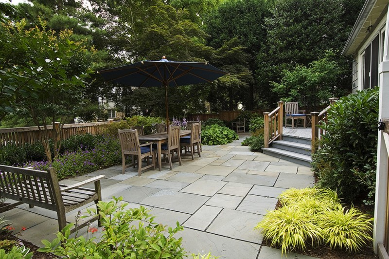 Apld for Rustic Patio with Pavers