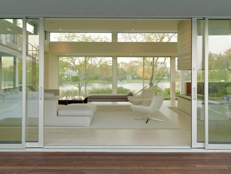 Arcadia Doors for Contemporary Living Room with Contemporary