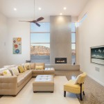 Ashley Furniture Albuquerque for Contemporary Living Room with Ceiling Fan