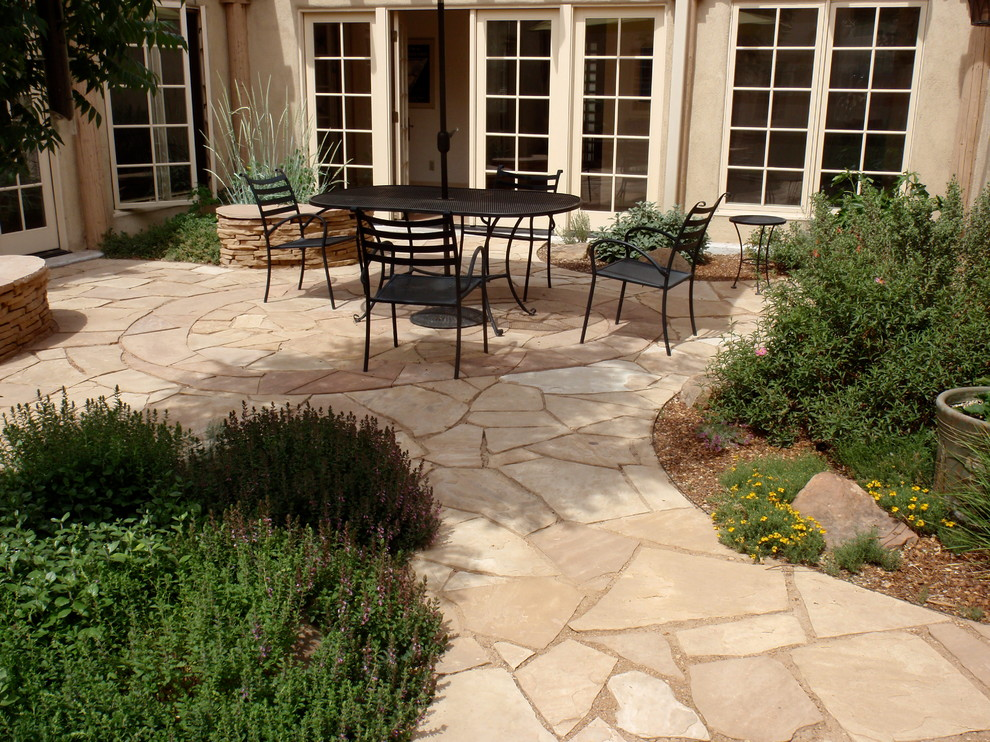 Ashley Furniture Albuquerque for Contemporary Patio with Flagstone
