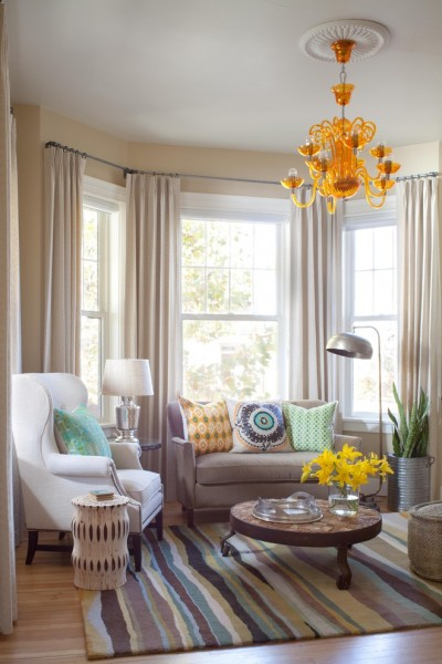 Ashley Furniture Chattanooga for Transitional Living Room with White Window Trim