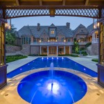 Ashley Furniture Tyler Tx for Traditional Pool with Column