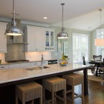 Ashley Furniture Wilmington Nc for Traditional Kitchen with Drum Pendant