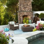 Ashley Furniture Wilmington Nc for Traditional Patio with Painted Brick