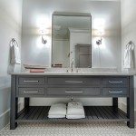 Ashley Norton Hardware for Transitional Bathroom with Floor Tile
