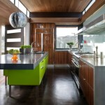 Asphalt vs Concrete for Contemporary Kitchen with Kitchen Island Sink