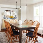 Atg Lighting for Traditional Dining Room with Navy Blue Chair Cushions