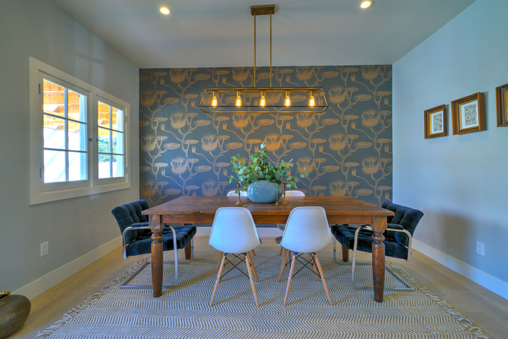 Atg Lighting for Transitional Dining Room with Simple Design