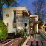 Atlanta Homes and Lifestyles for Contemporary Exterior with House Numbers