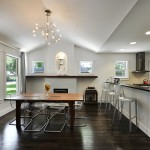 Austin Hardwoods for Transitional Dining Room with Wood Molding