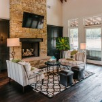 Austin Hardwoods for Transitional Living Room with Stools
