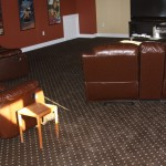 Avalon Flooring for Contemporary Home Theater with Avalon Flooring