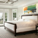 Axminster Carpet for Traditional Bedroom with Colorful Artwork