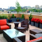 Azaleas Nyc for Contemporary Deck with Outdoor Seating