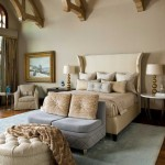 Azure Dallas for Traditional Bedroom with Blue Area Rug