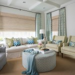 Azure Dallas for Transitional Living Room with White Side Tables