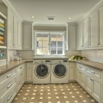 Bagcraft Papercon for Traditional Laundry Room with Wood Cabinets