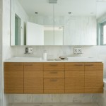 Bamboo Sherman Oaks for Contemporary Bathroom with Wall Mount Faucet