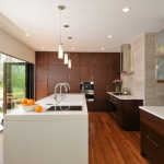 Bamboo Sherman Oaks for Contemporary Kitchen with White Countertop