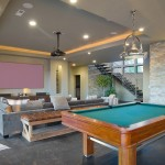 Banc Home Loans for Contemporary Home Theater with Ceiling Lighting